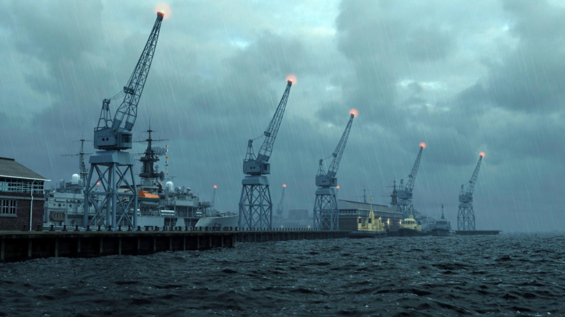 Port Buildings 03 (3dsMax)