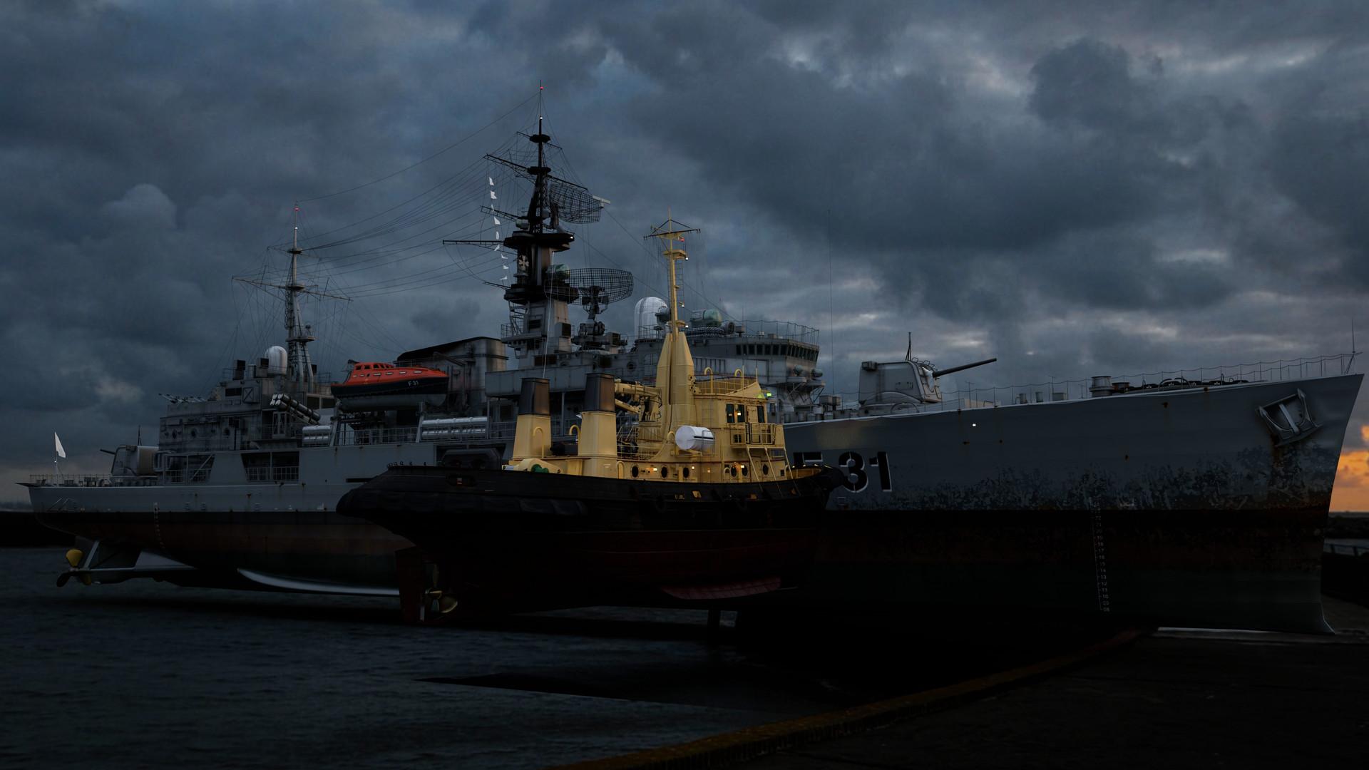 HMS Havok 05 (Maya, Sibl GUI)
