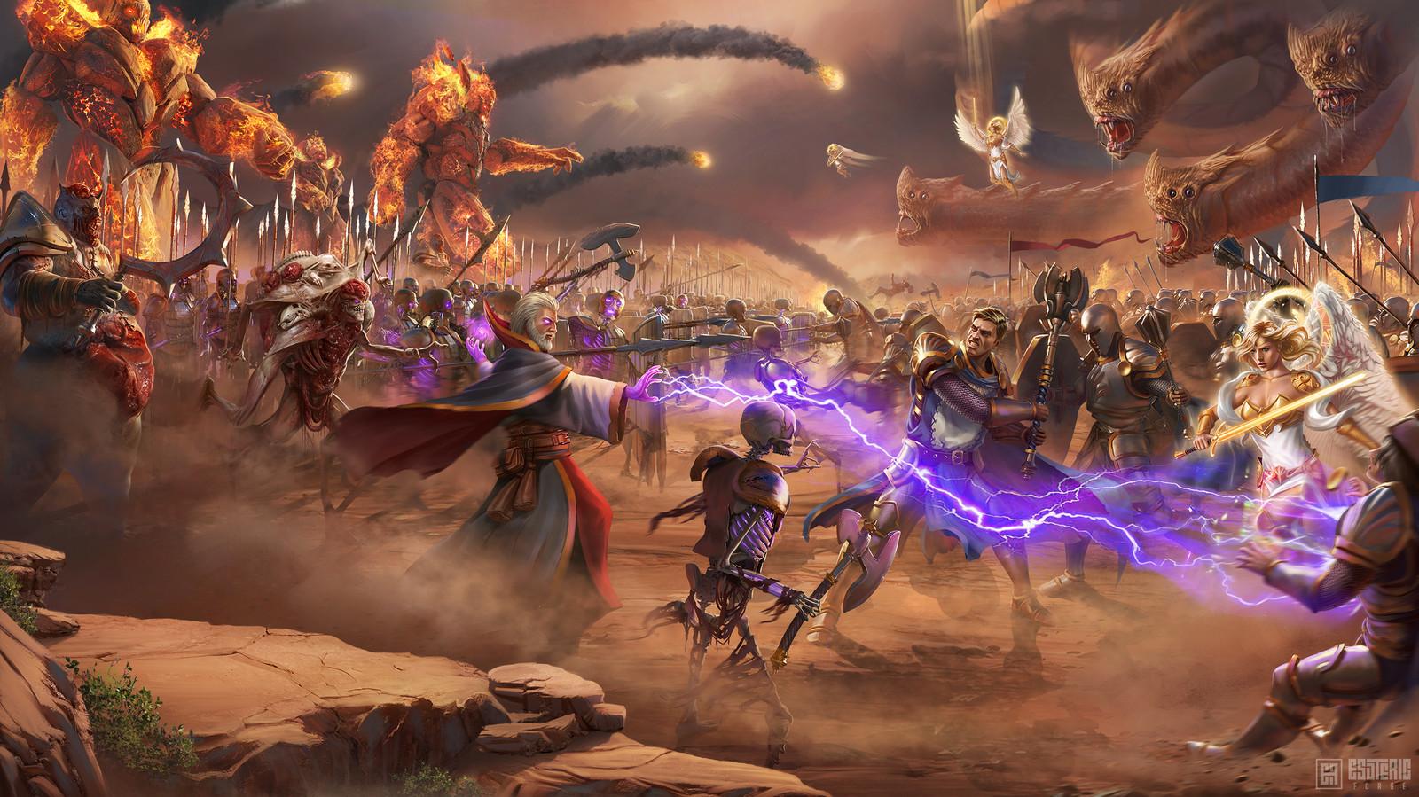Battle Main Screen