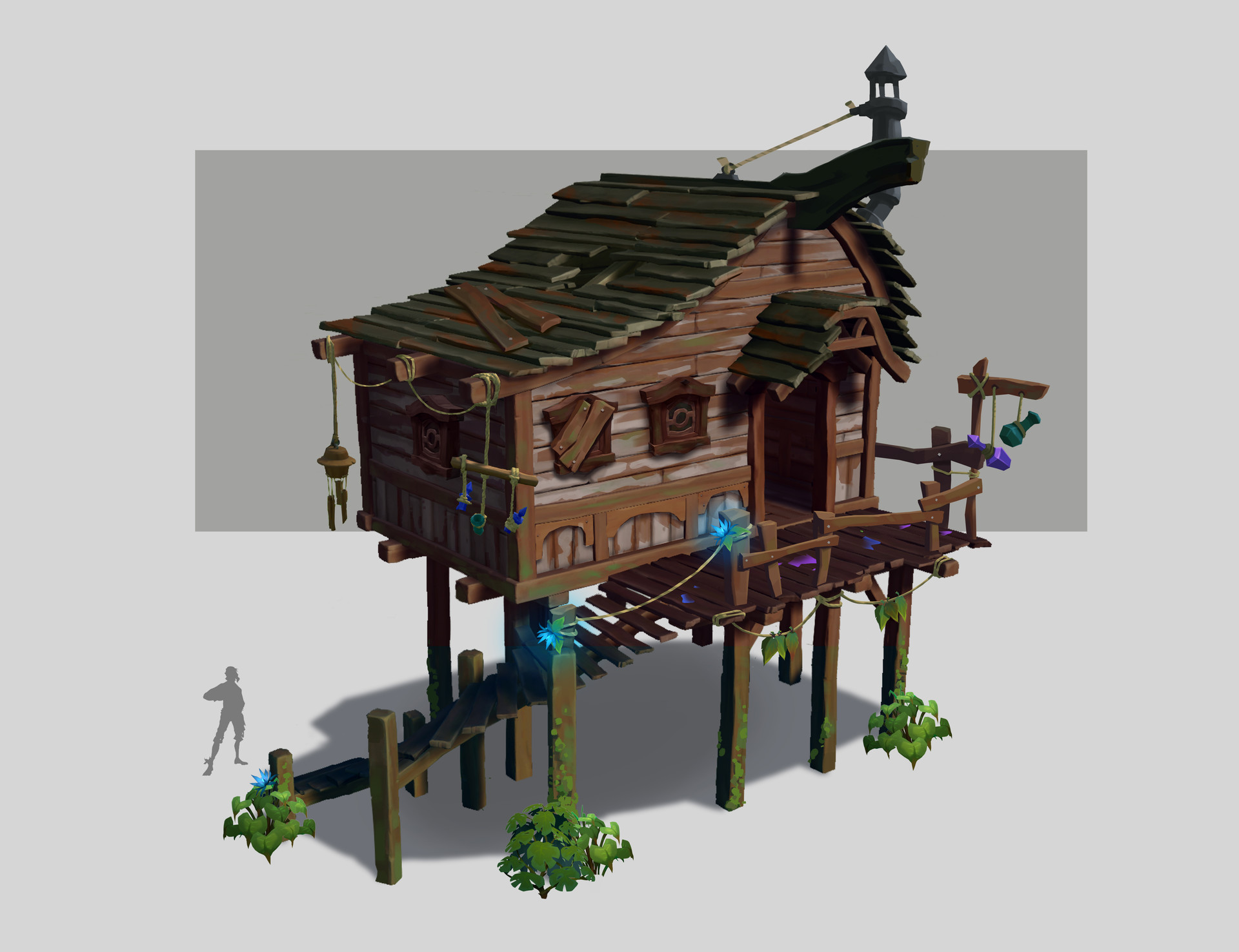 ArtStation - Sea of Thieves - Architecture and props design