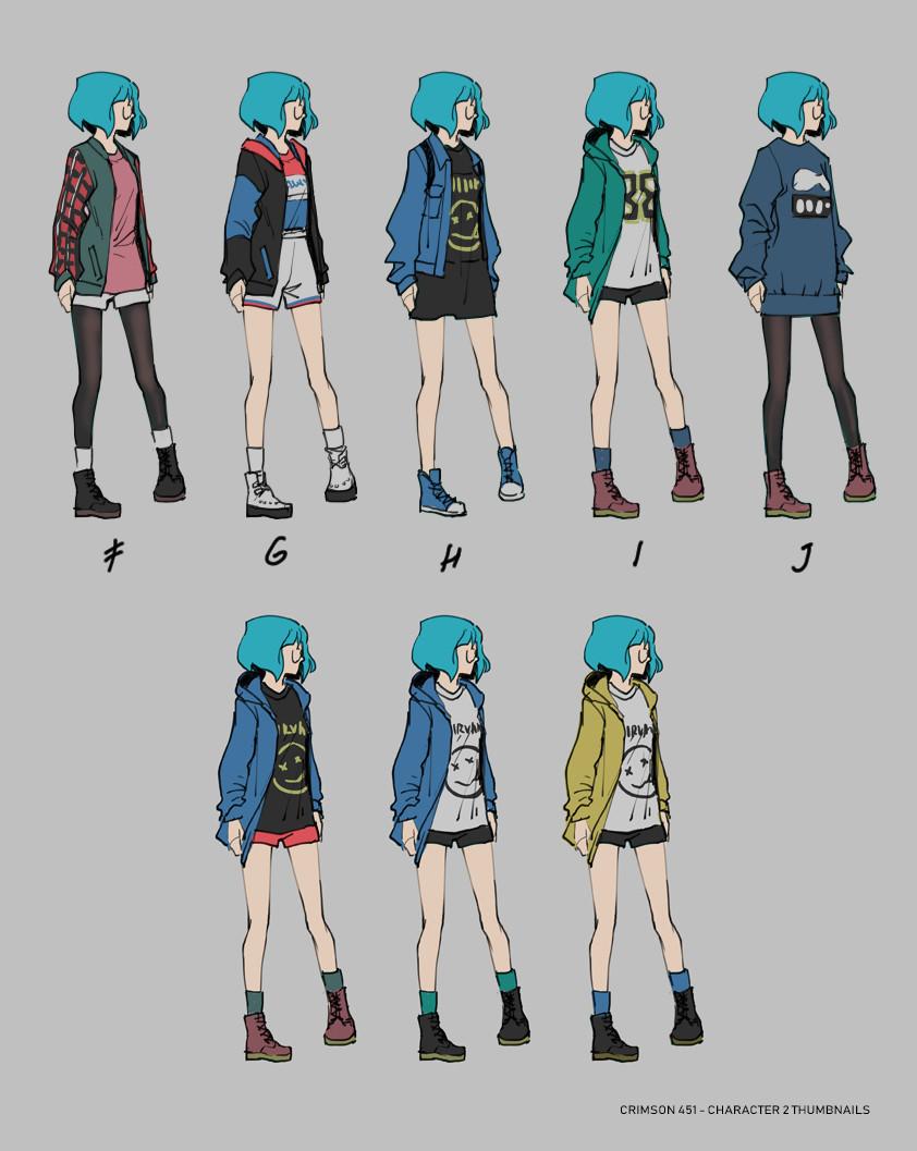 Ann maulina character 2 thumbnails