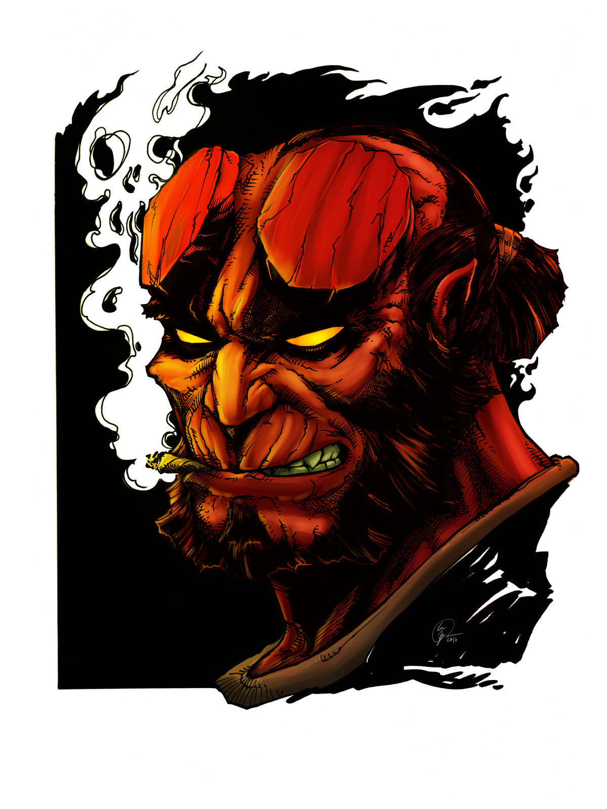 Hellboy Colored Edition