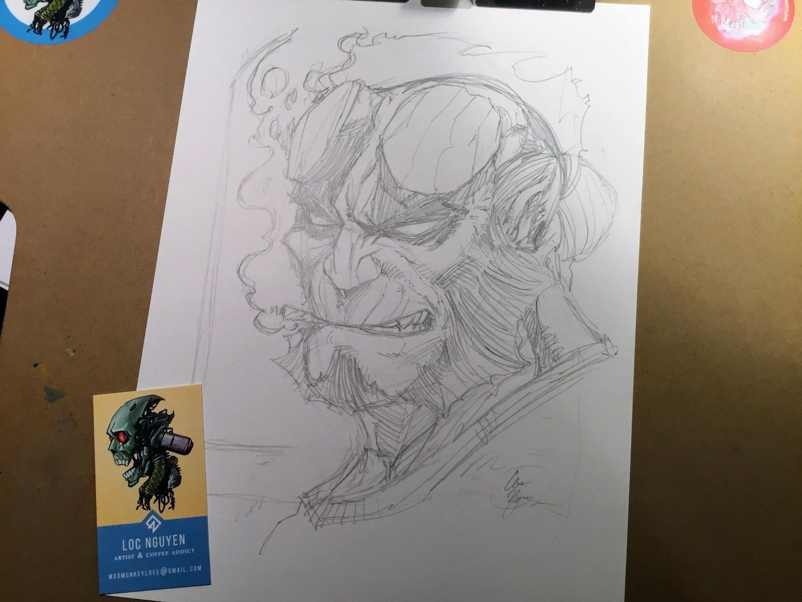 01- Pencil Sketch