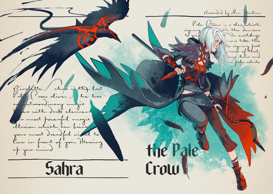 Sahra the Pale Crow