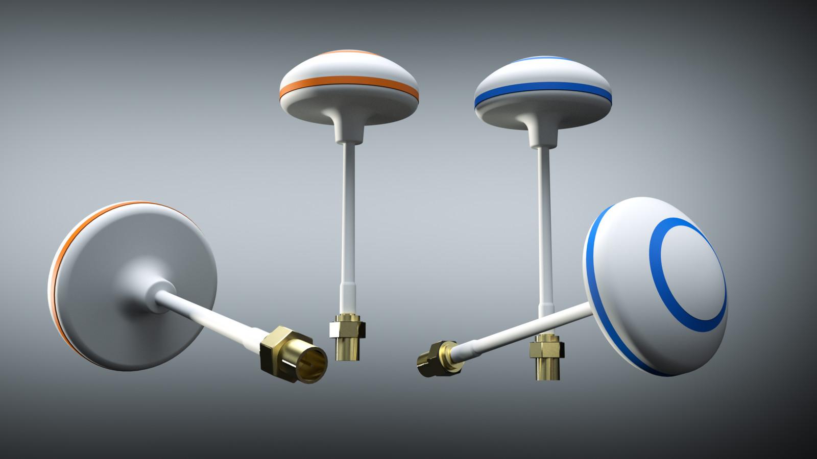 SU 2018 + Thea Render  Prelim build Clover Leaf Mushroom Aerial  Clover leaf Antenna 01-Scene 2 SU