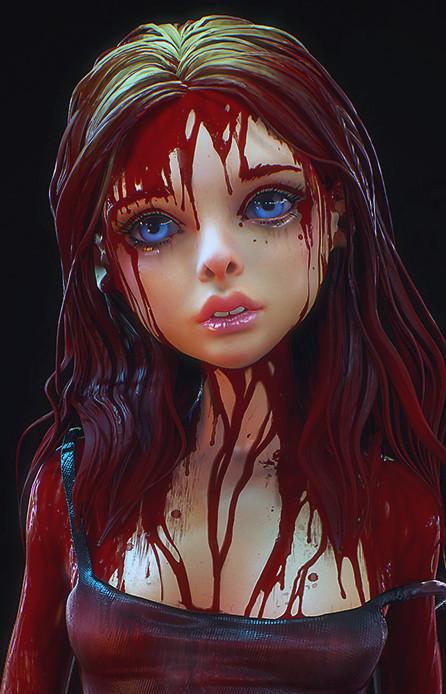 ArtStation - Sword, Olya Anufrieva | Illustration girl