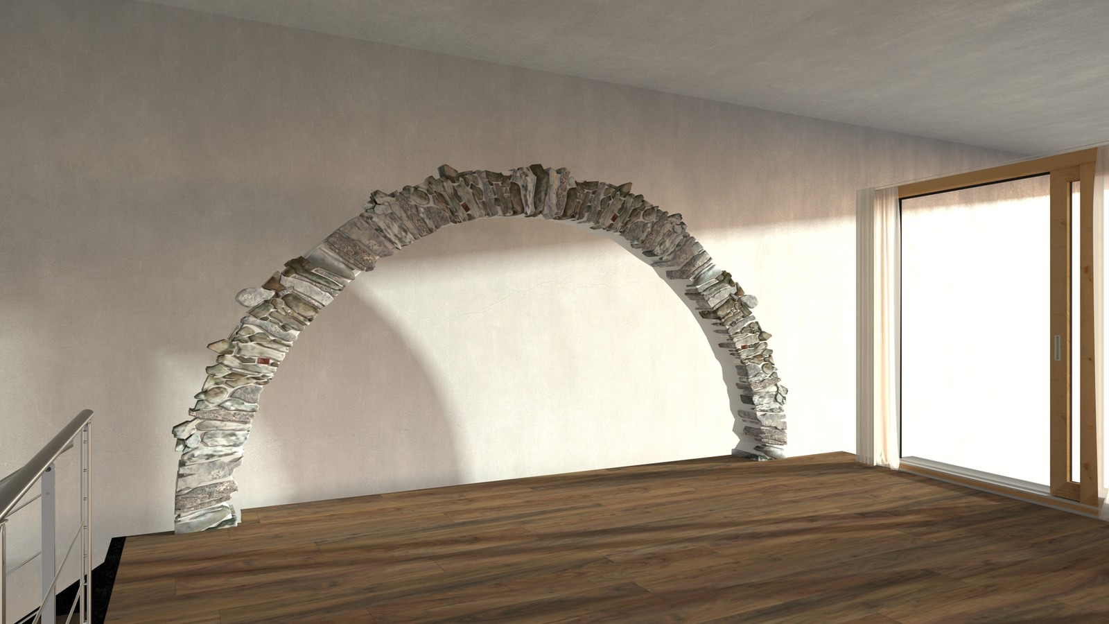 Rivendell Salon Arch Demo-Scene 128