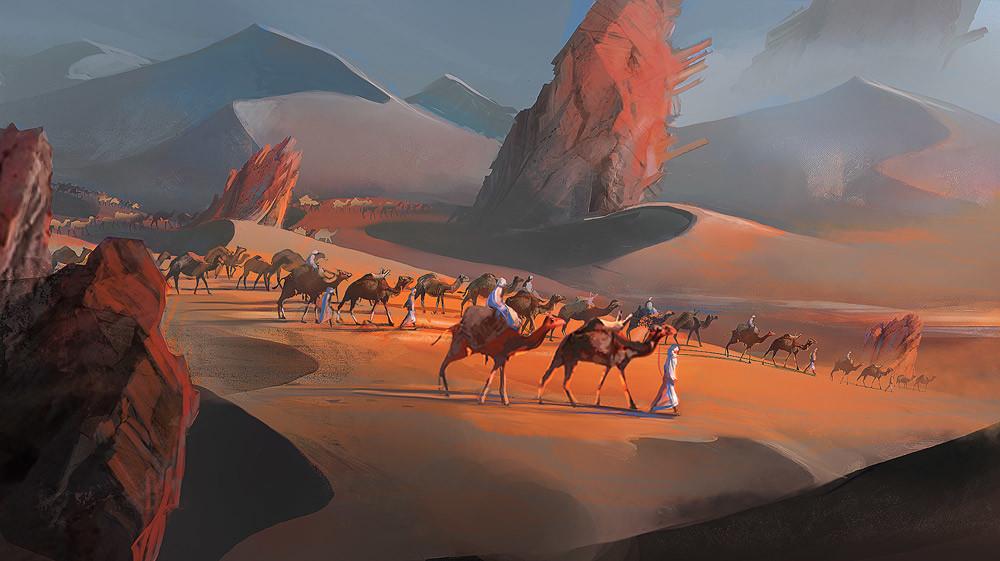 Azalai - Salt caravan