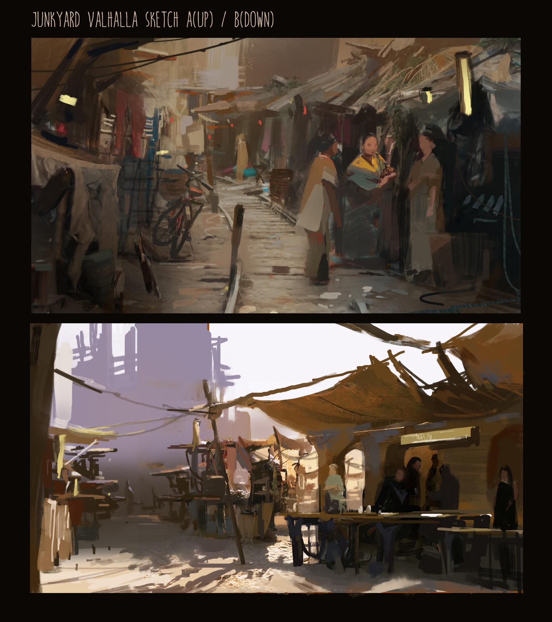 Yujin choo junkyard valhalla sketch