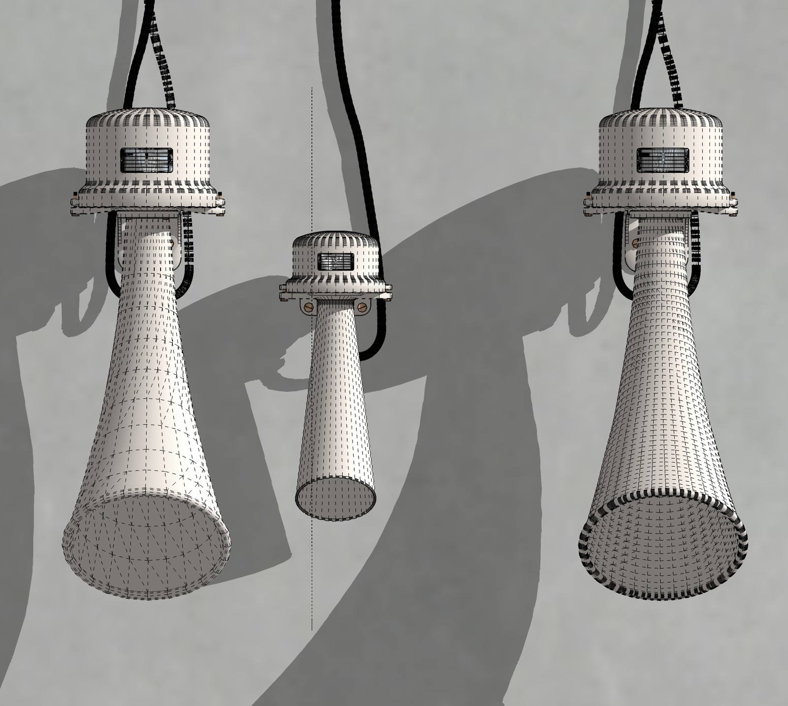 SketchUp  Rivendell Mill's Industrial Signal Warehouse Horn  Horn's Poly comparison Scene 14