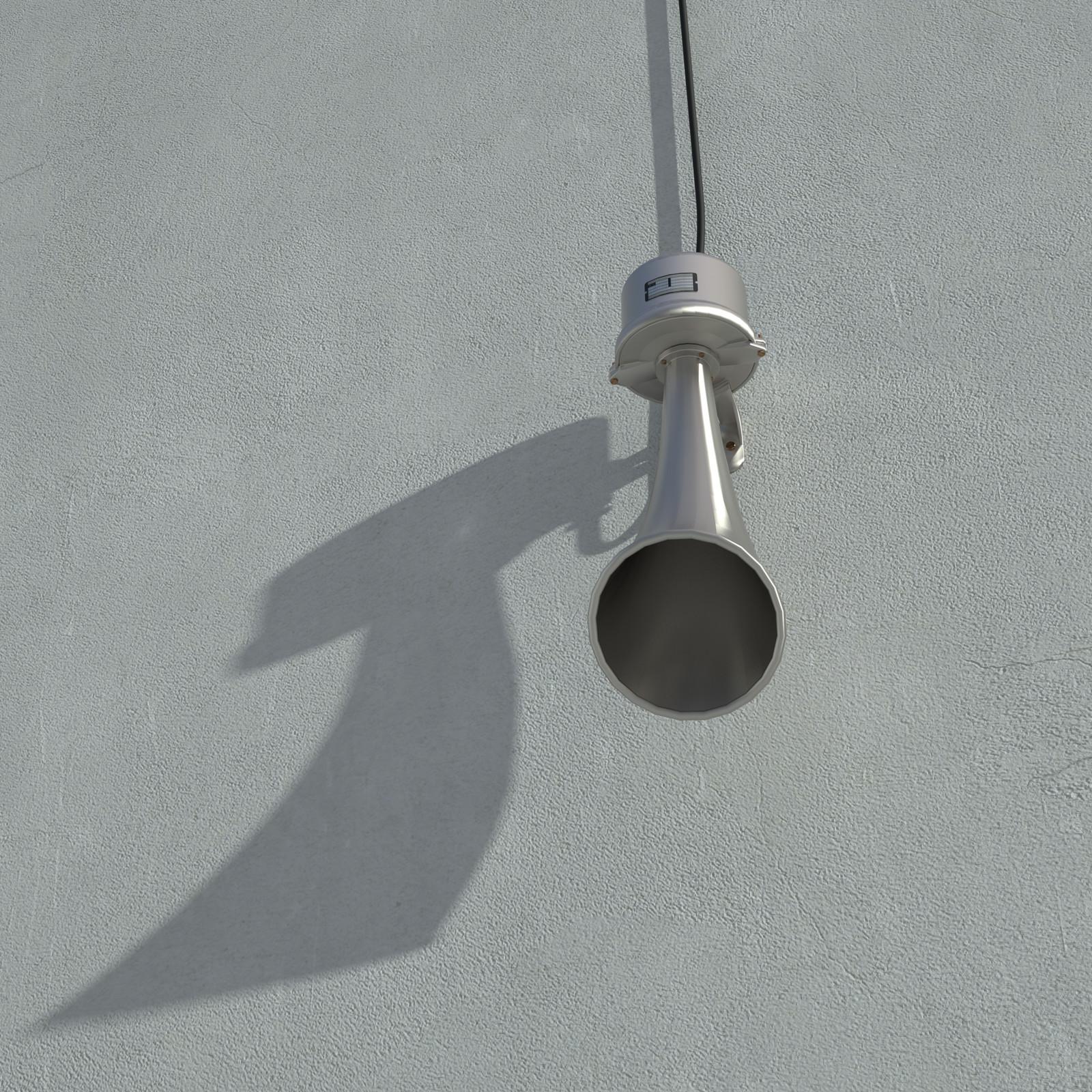 SketchUp + Thea Render  Rivendell Mill's Industrial Signal Warehouse Horns Rivendell Horns 01 Final Scene 06