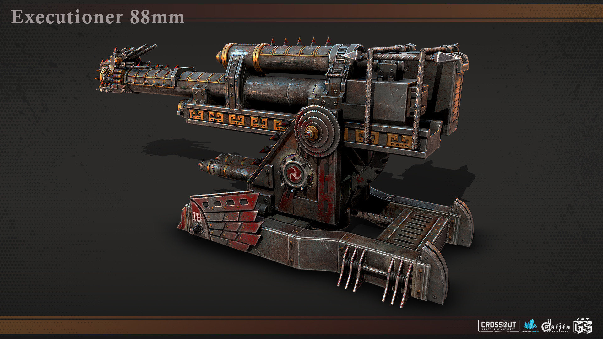 ArtStation - Crossout cannons, Ilya Samokoz