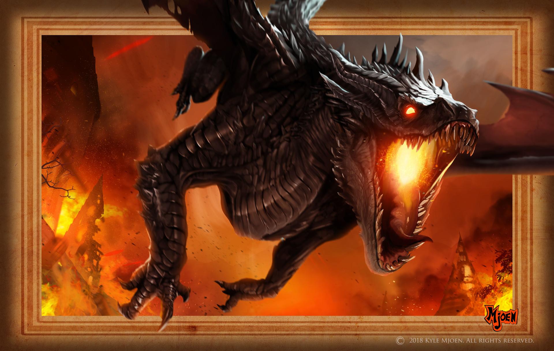 Kyle mjoen dragon inferno