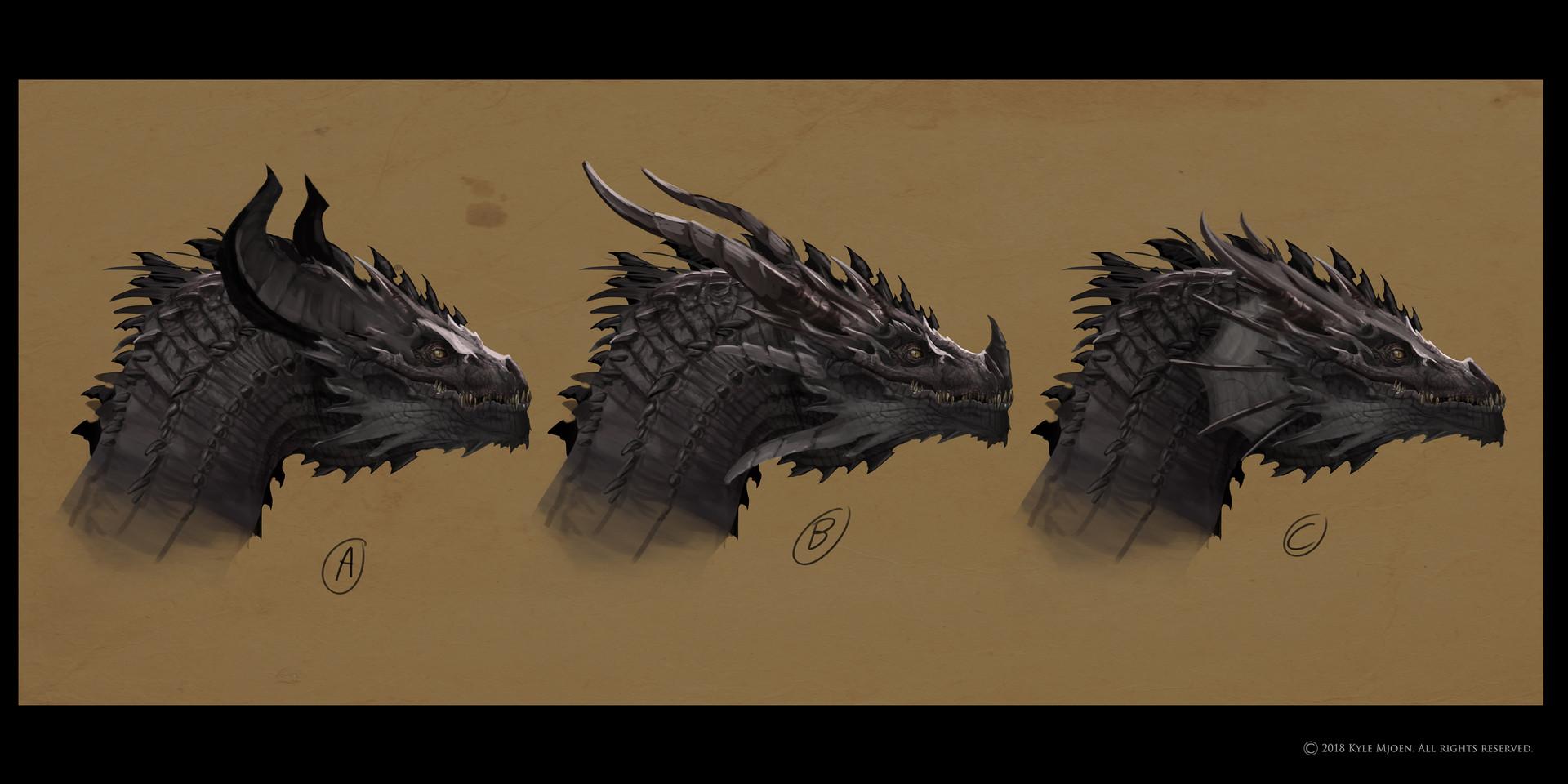 Kyle mjoen dragon horns