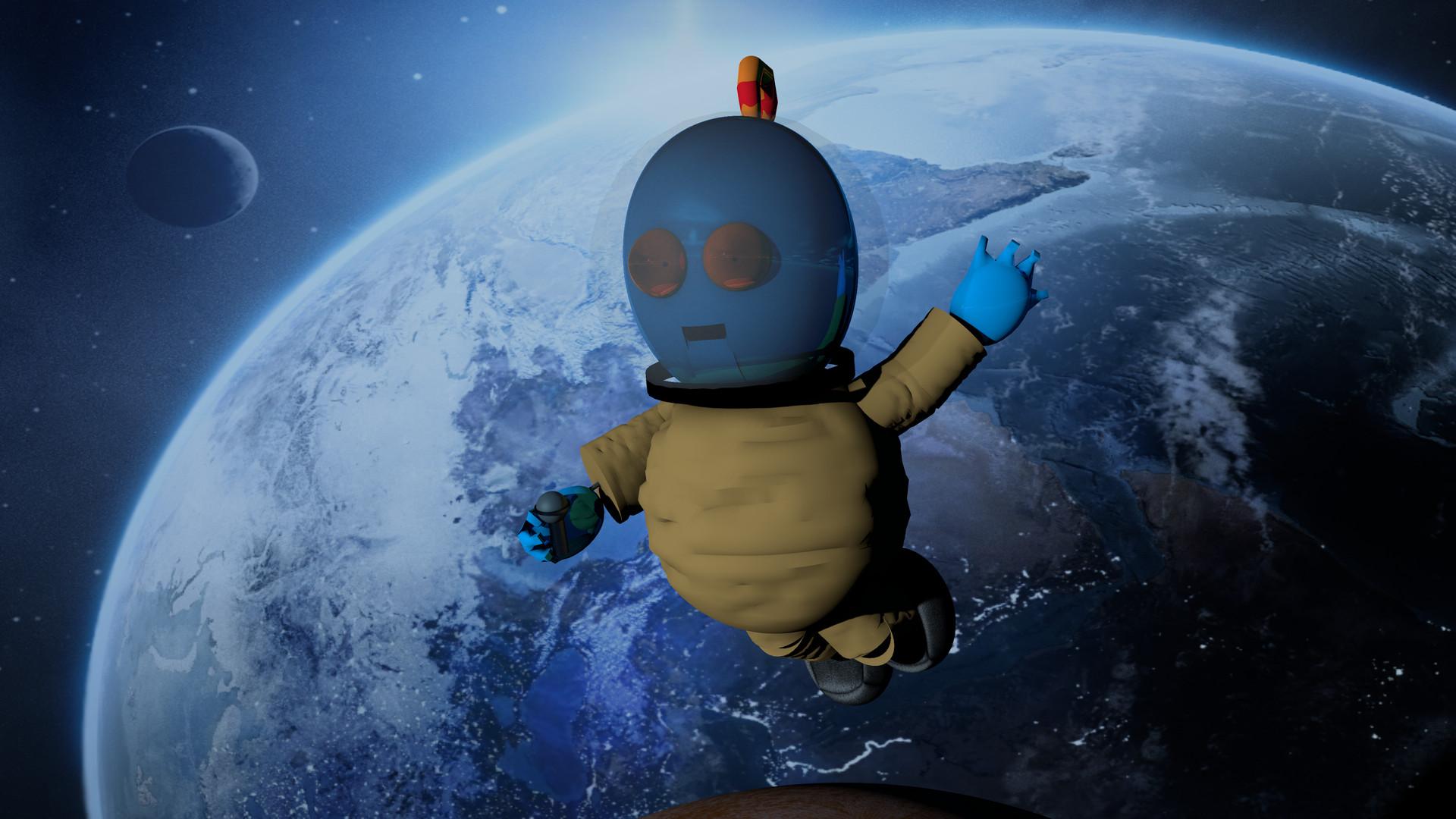 artstation - toy abe in space 4k wallpaper, ali el-khazali