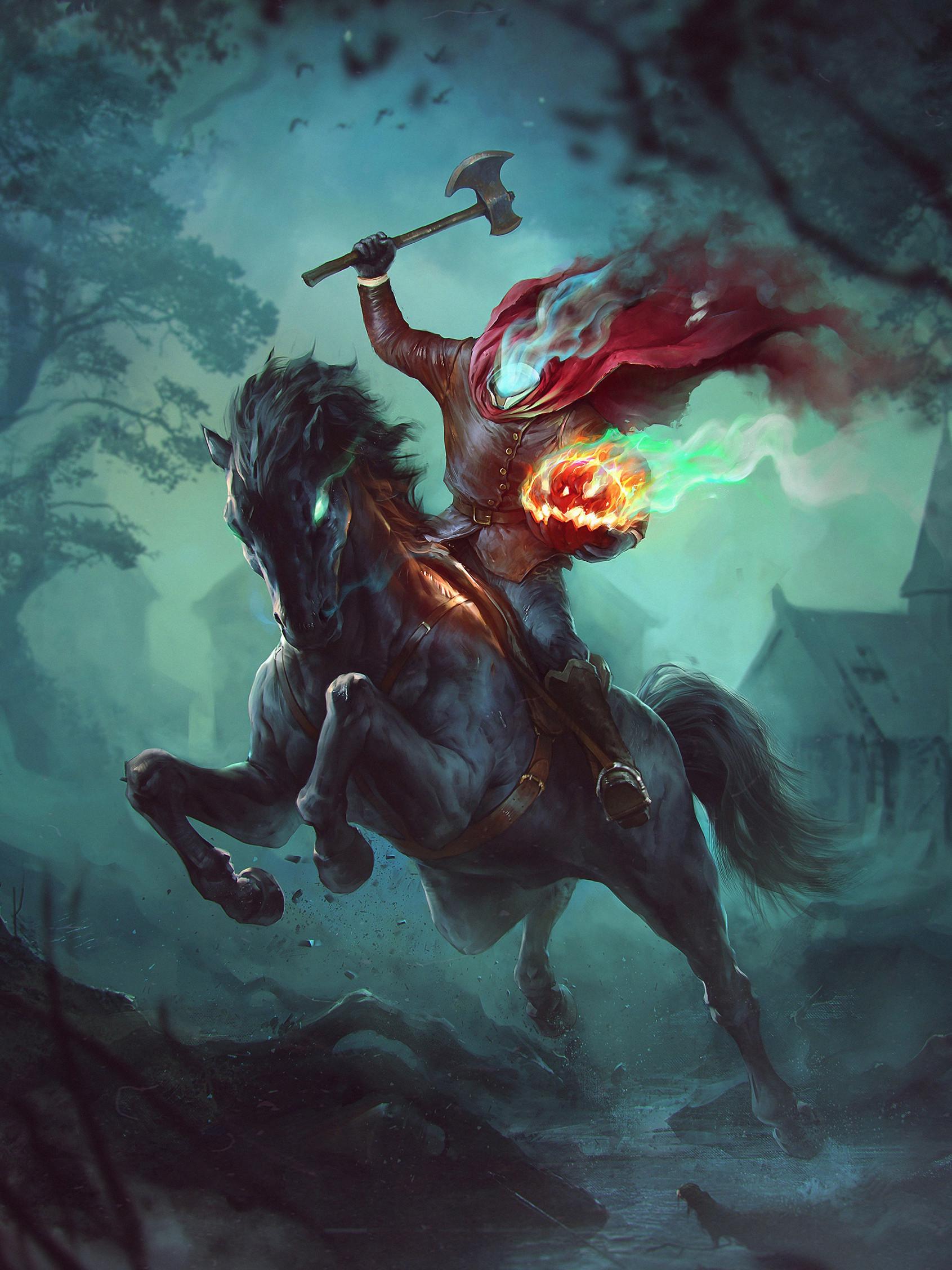 Denys tsiperko headless horseman - Pictures of the headless horseman ...