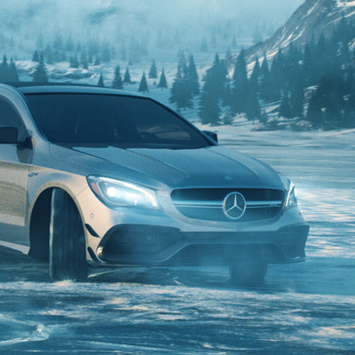 Miguel oliveira mercedes ice lake shot