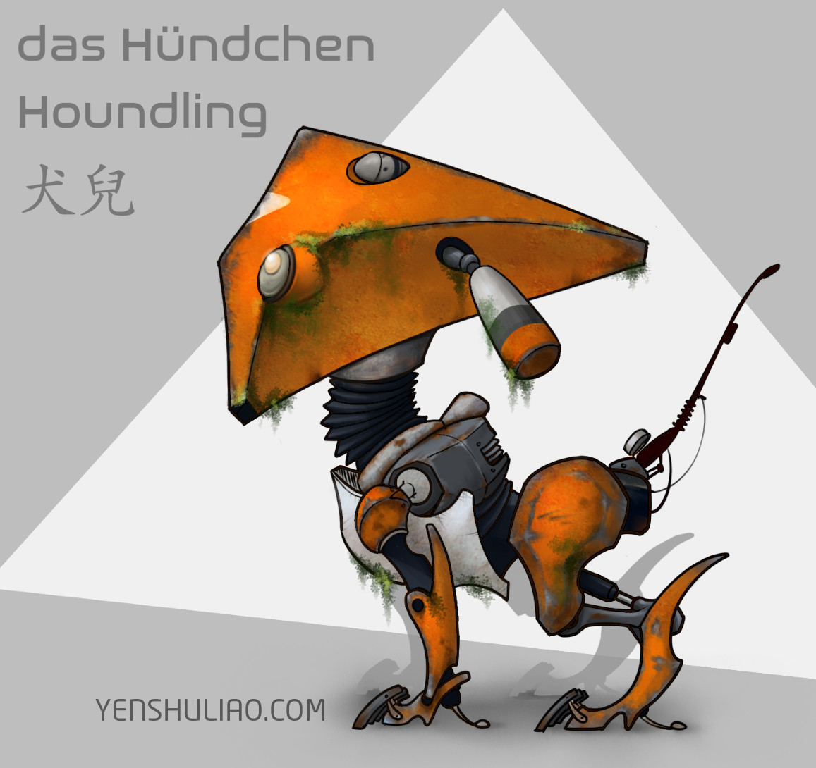 Yen shu liao mech robot concept art yenshuliao 06