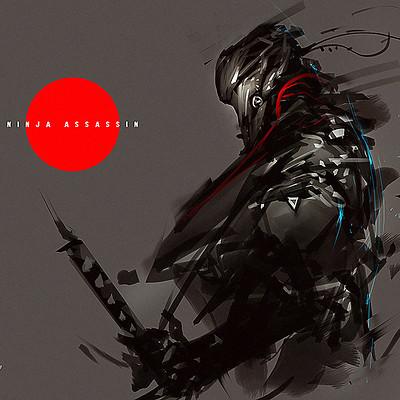 Benedick bana speedpaint ninja assassin by benedickbana dc7ru6w