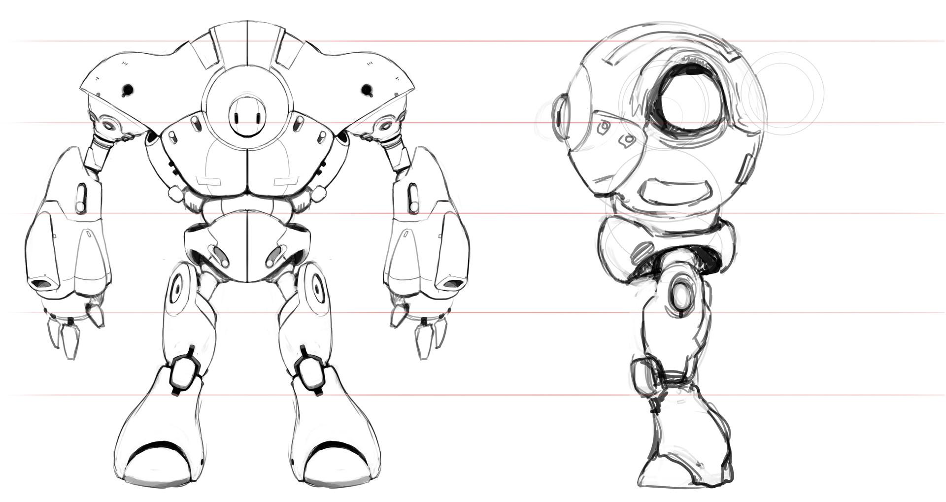 Victor hugo sousa robot model stop bot