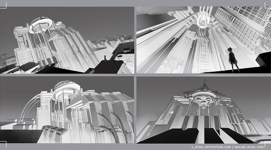 Scrapped castle compositions