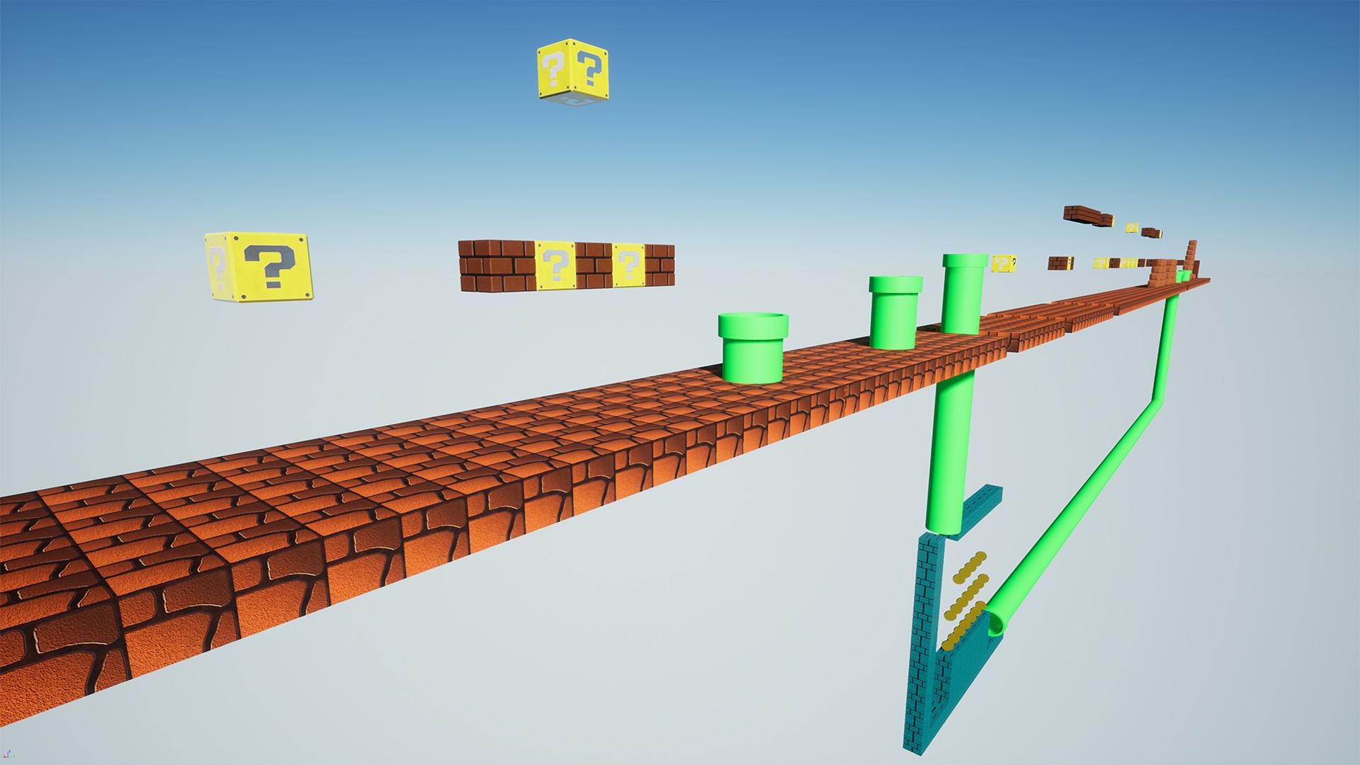 ArtStation - Super Mario VR - Fan Game, Enrico Figlia