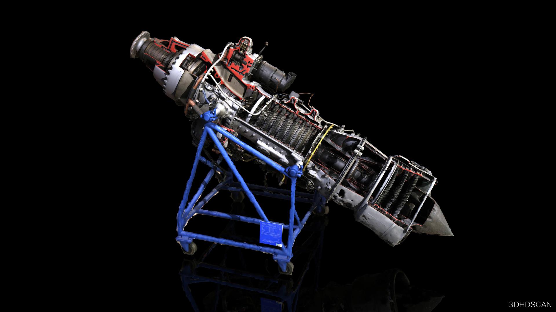 Turbo schaft engine Ivchenko AL-20