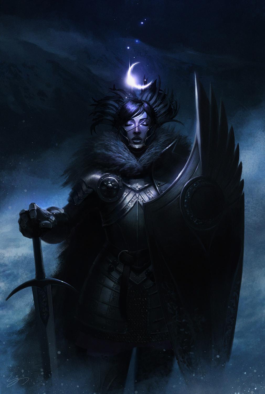 My contribution to the 1001 Knights kickstarter.