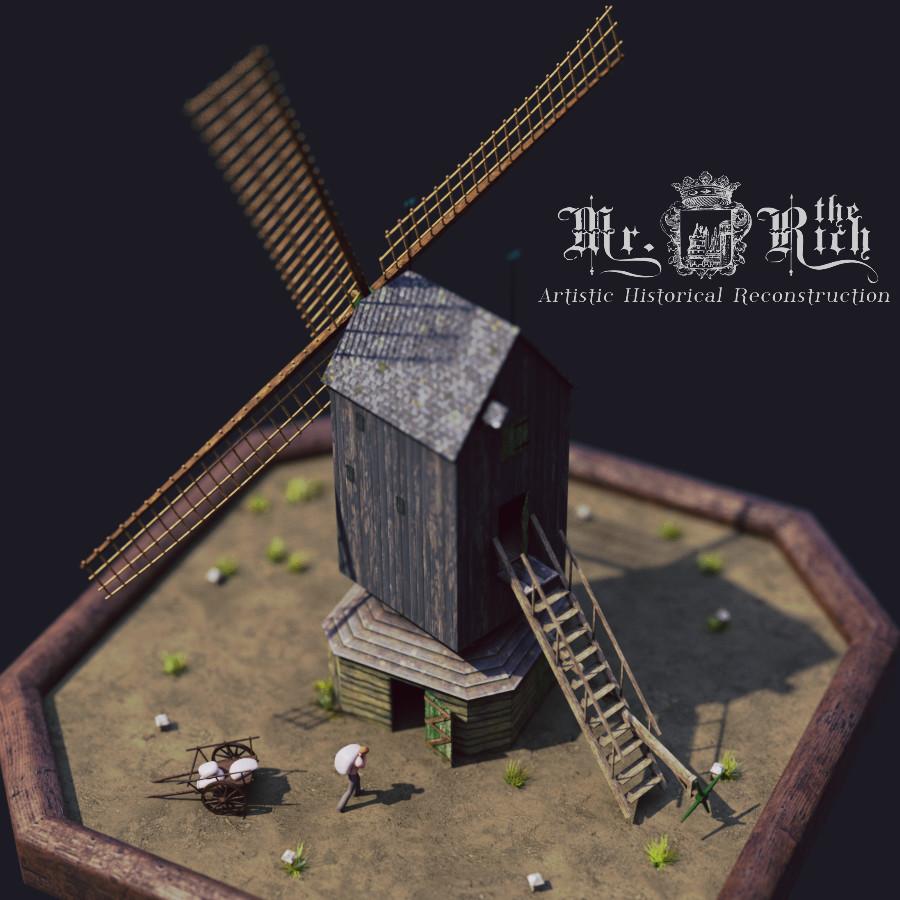 Matthijs de rijk windmillrender
