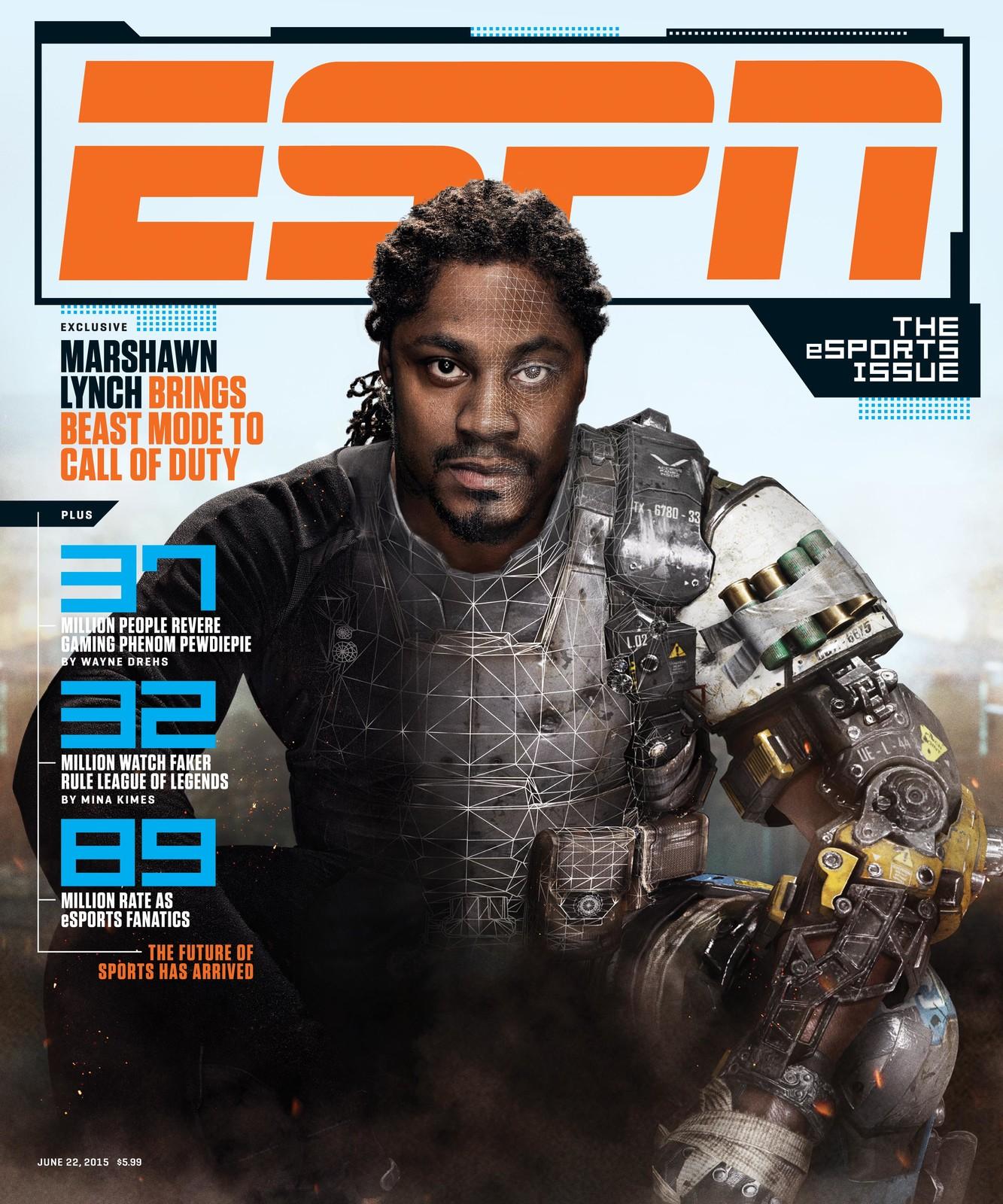 ESPN: June 2015 Cover