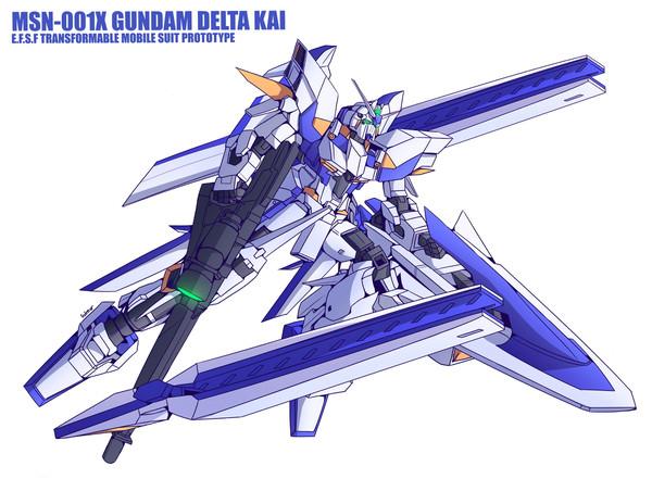 MSN-001X Gundam Delta Kai, Gylmyr Dizon