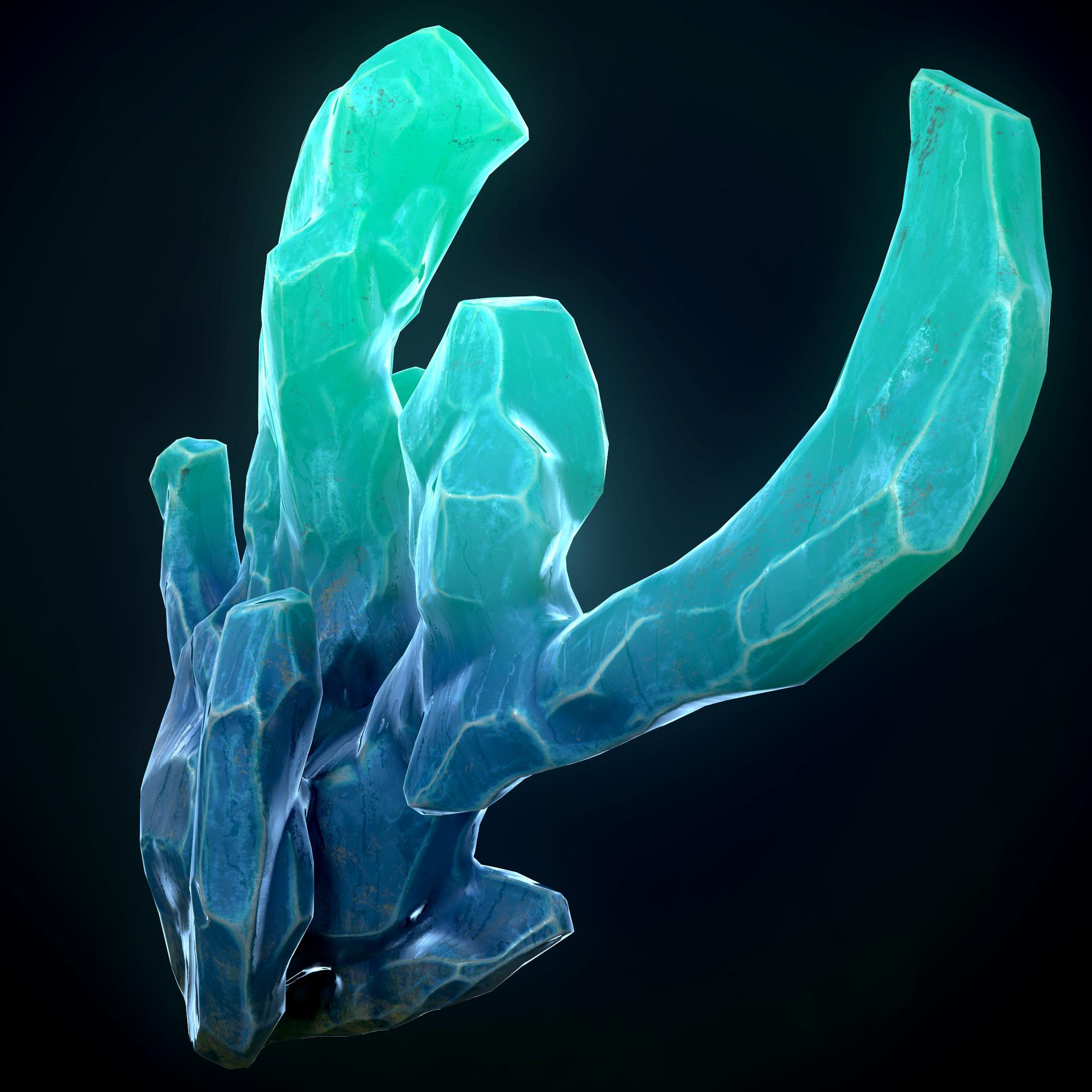 Andrew krivulya crystal render007