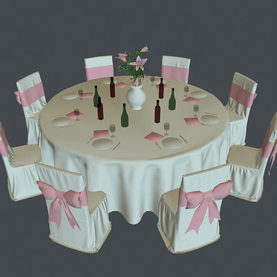 Sergei kupriakhin wedding table