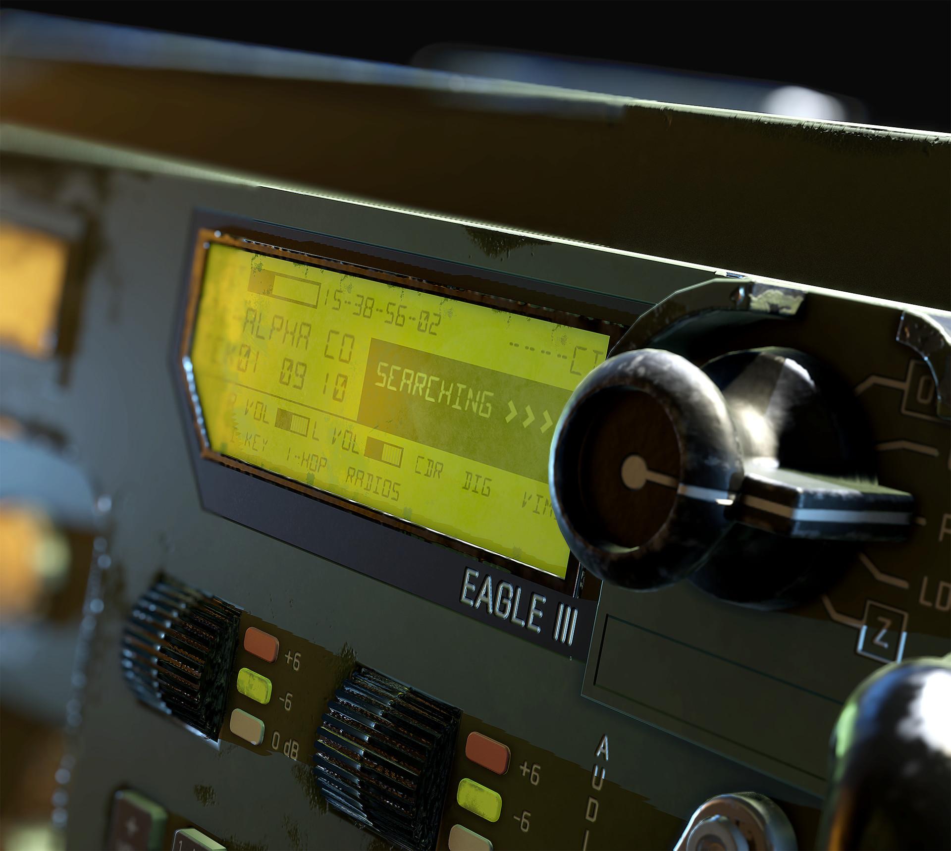 Hannu koivuranta militaryradio detail 3