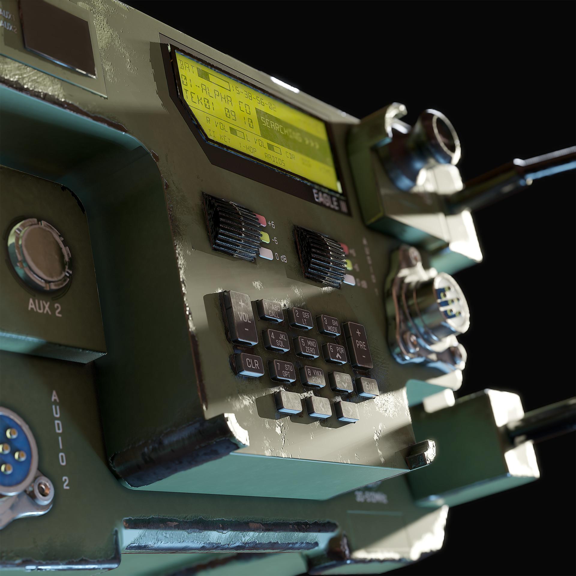 Hannu koivuranta militaryradio detail 2