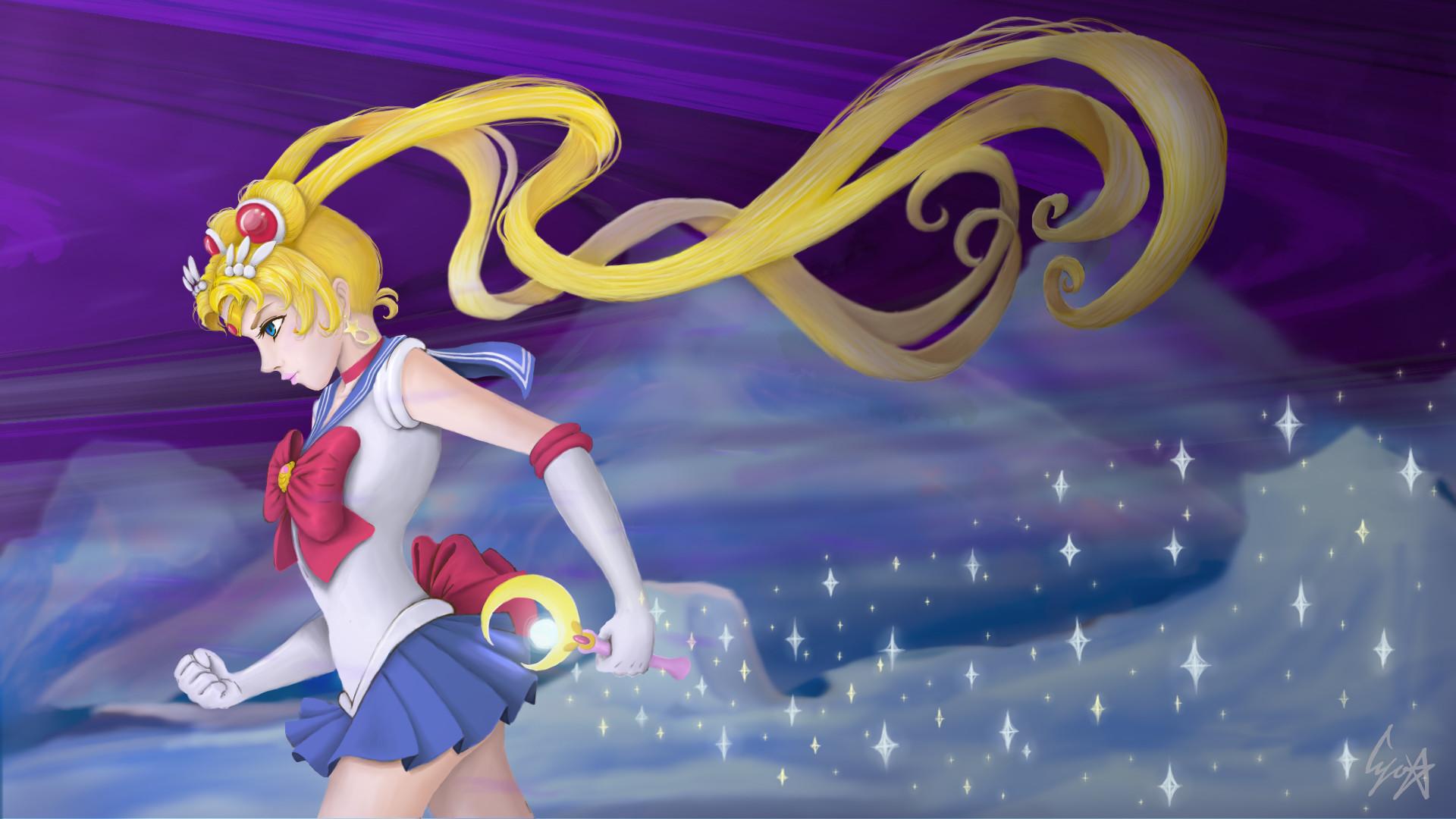 154 Sailor Moon Crystal Hd