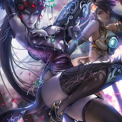 Sakimi chan lunar widow 01