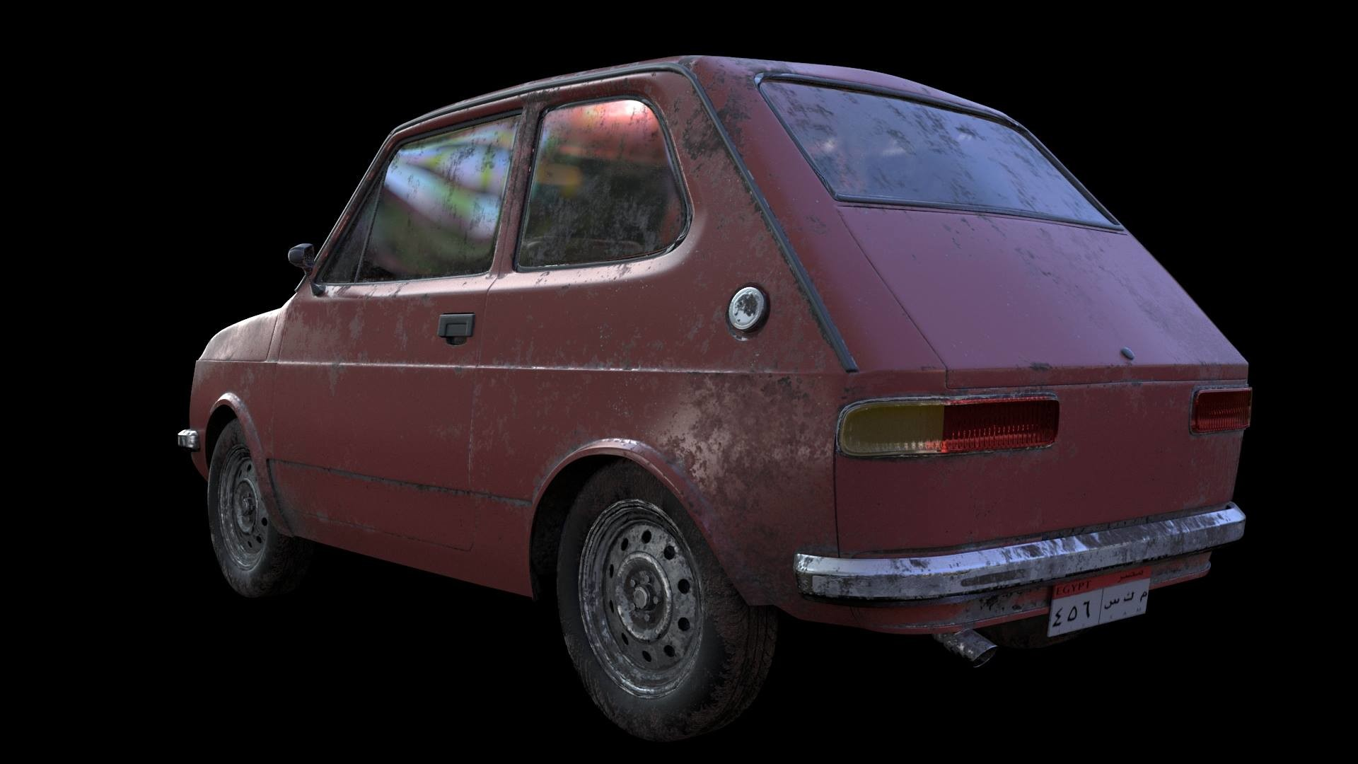 Mariam Hamed - Old Small Car