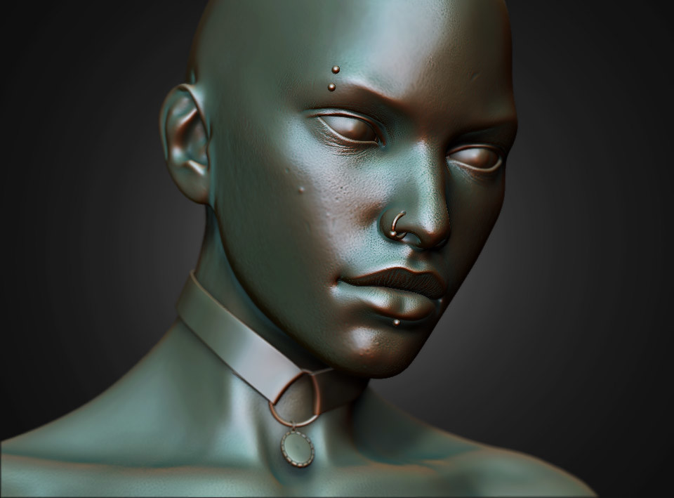 Damon woods zbrush sculpt02