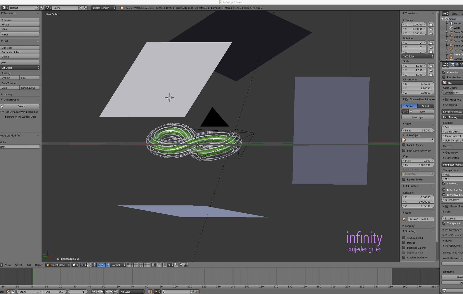 ArtStation - Infinity Blender, Nacho Cruje