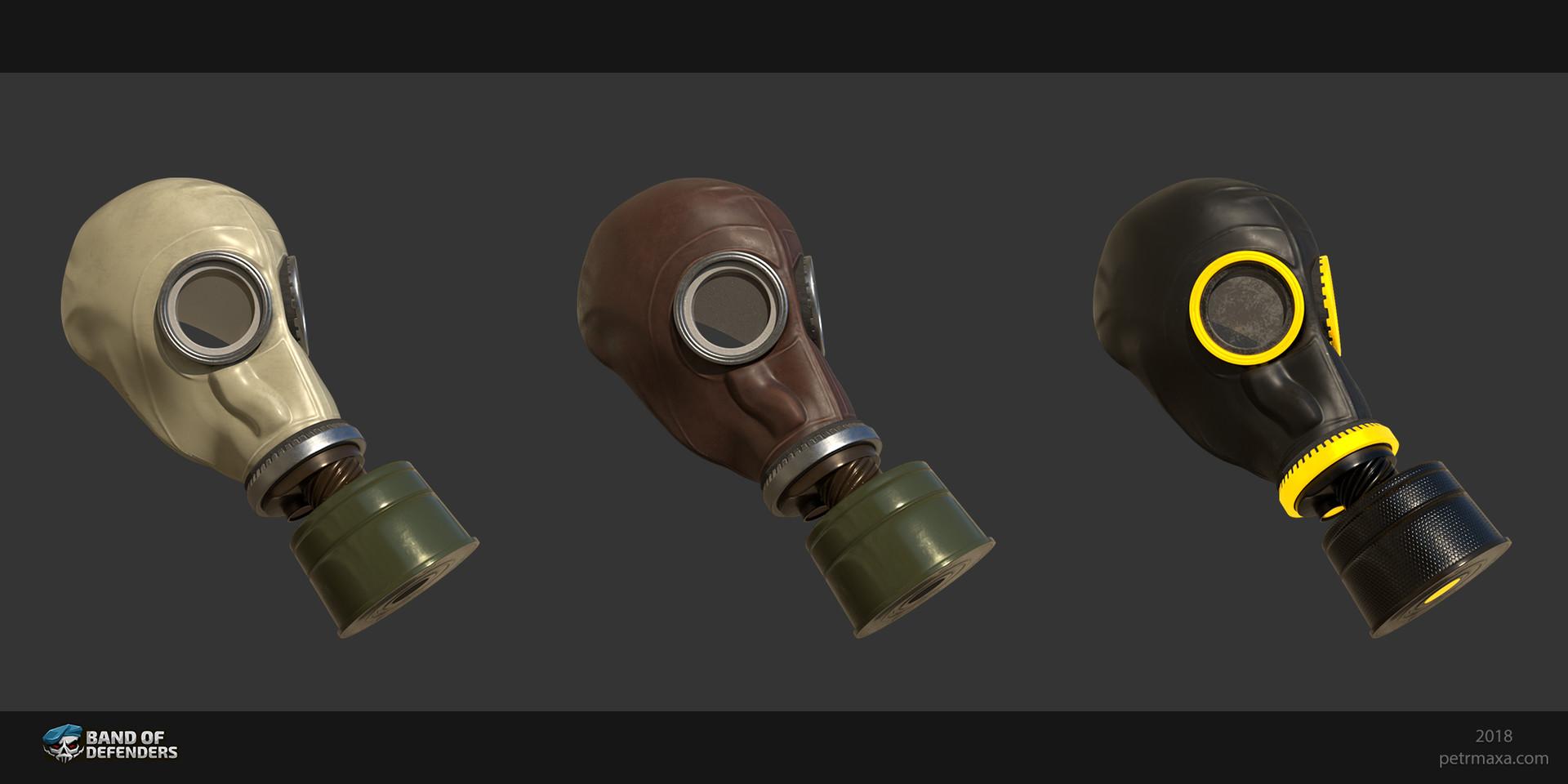 Petr maxa gas mask