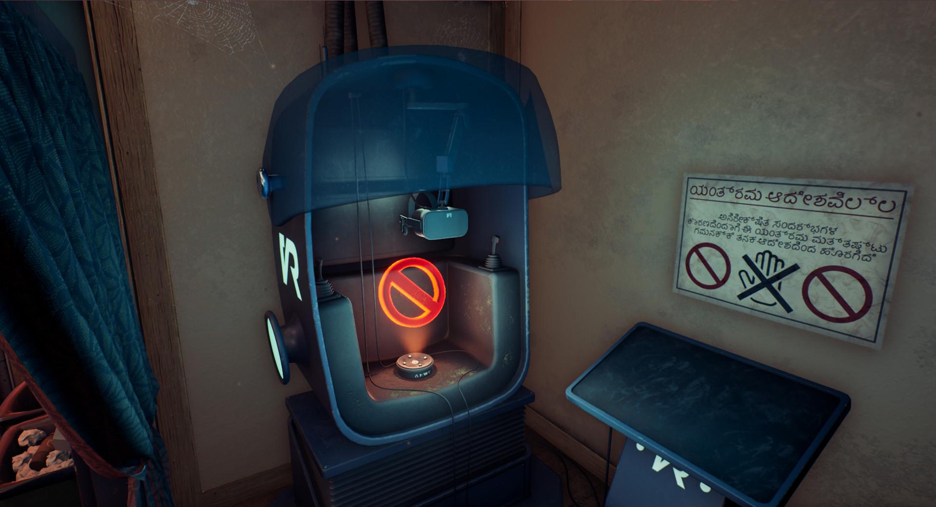 Haunted VR Pod