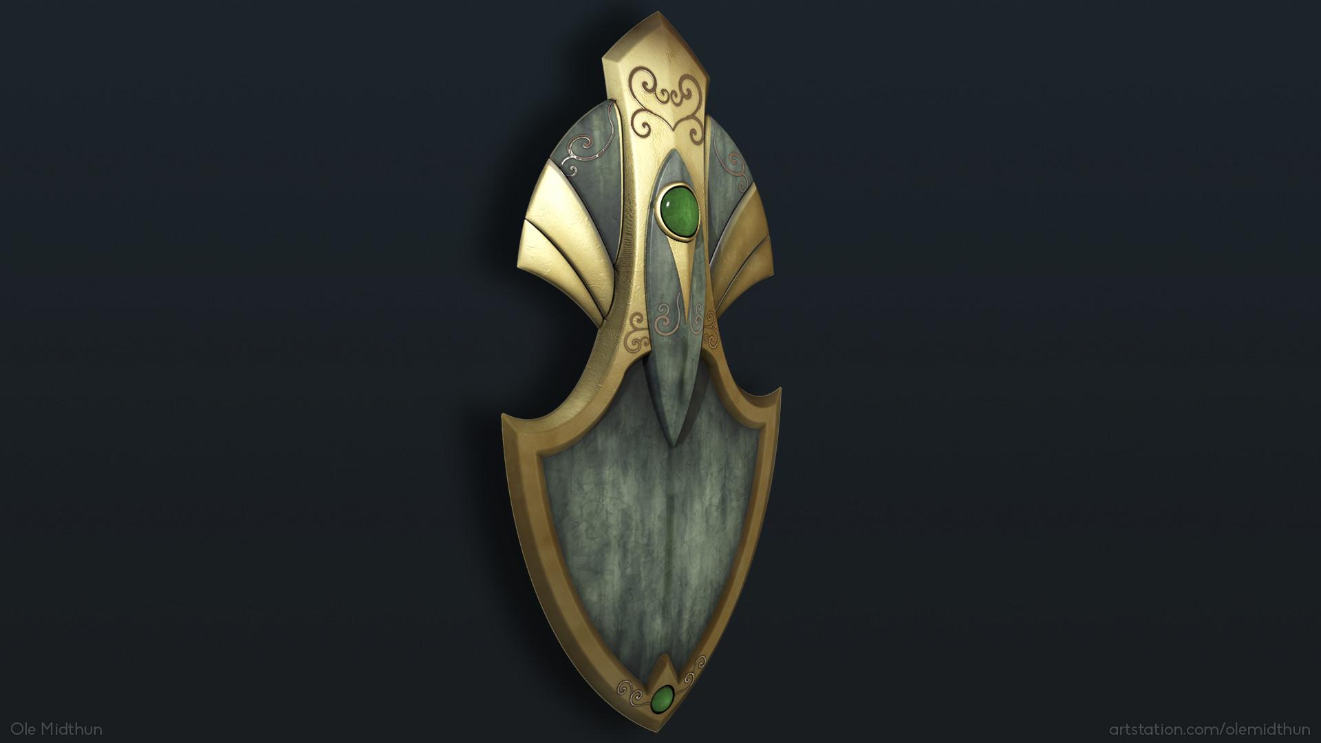 Ole midthun elven shield 2