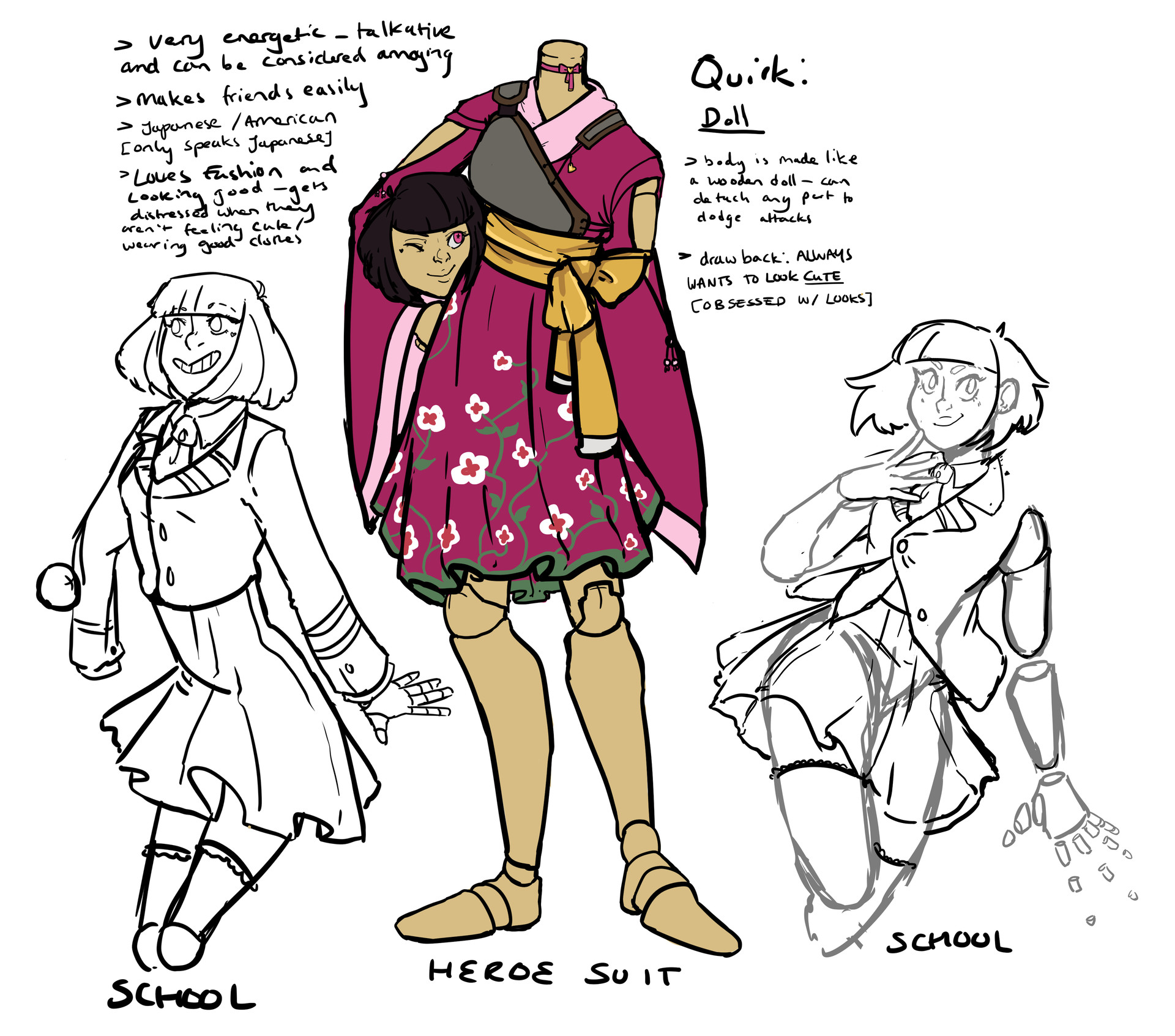 ArtStation - Orginal Character Concept Sheets, Joel Tasker