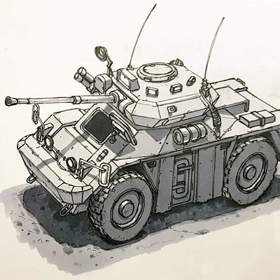 Tom van de merbel armoured car