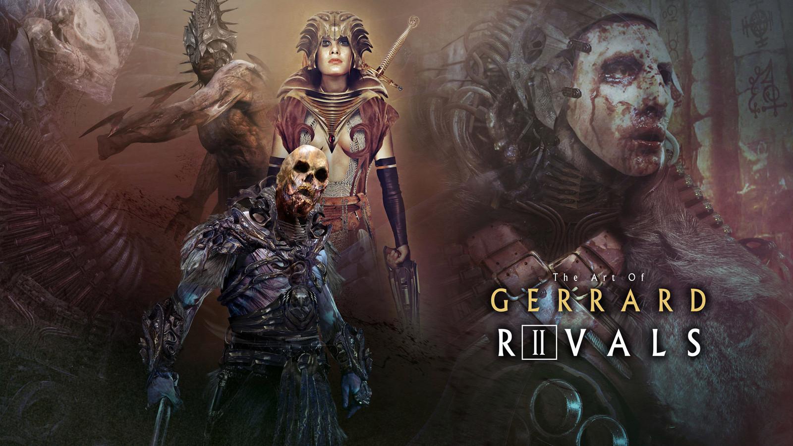 RIVALS: ART OF GERRARD VOL 2 !