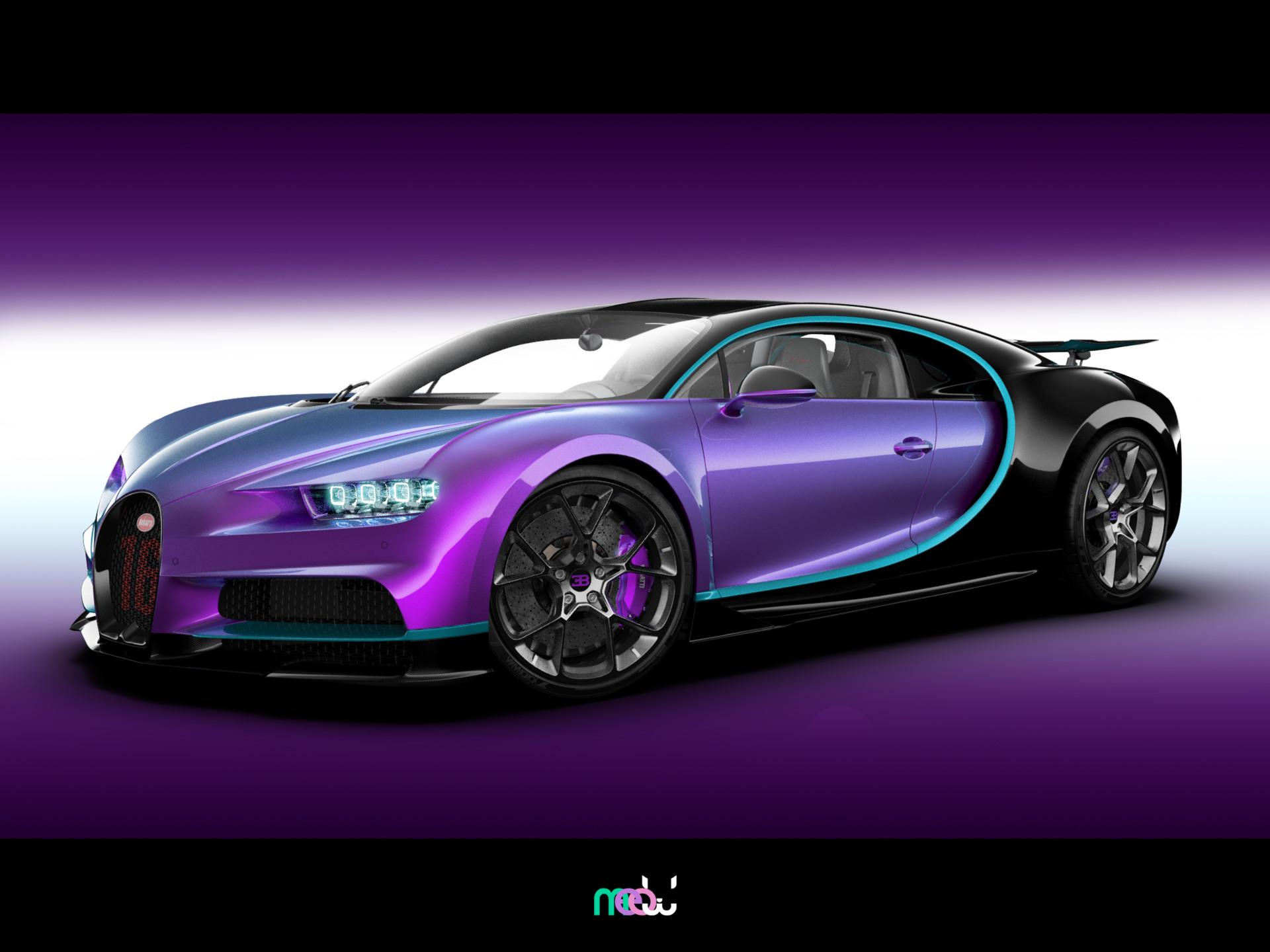 ArtStation - Bugatti Chiron Sport 2019, Kot Kotov