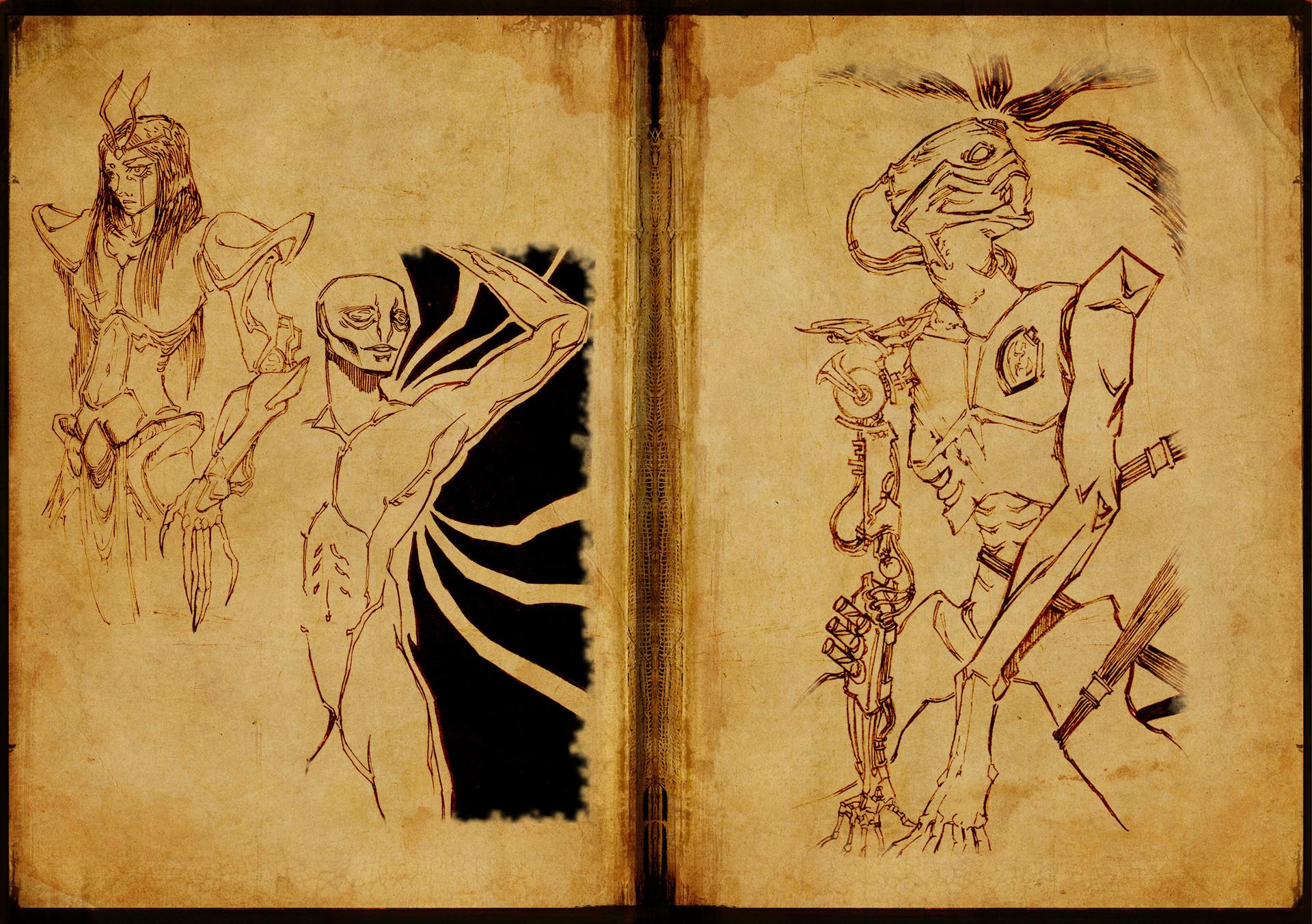 Aliens & cyborgs
