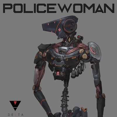 Ching yeh policewoman 01