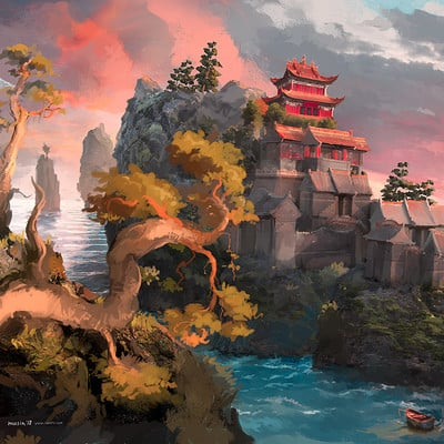 Sergey musin dragon temple concept 03